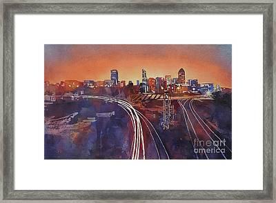 Morning In Raleigh Framed Print by Ryan Fox