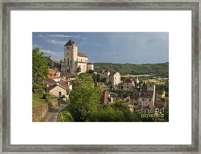 morning in Saint Cirq II Framed Print