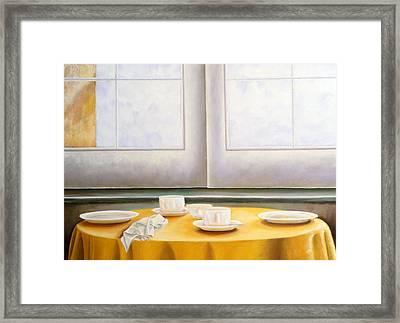 Morning In Sicily Framed Print by Gloria Cigolini-DePietro