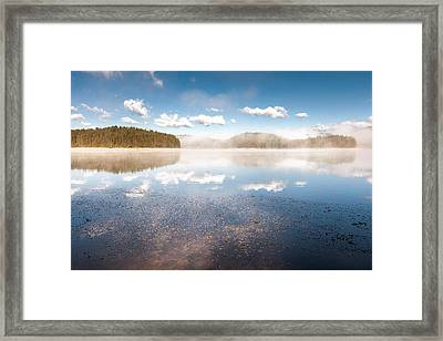 Morning In The Heaven Framed Print by Evgeni Dinev