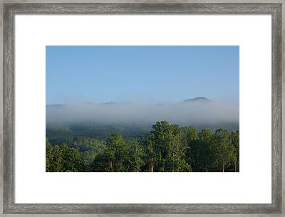 Morning In The Hills Of Tennessee Framed Print by Terry Hoss