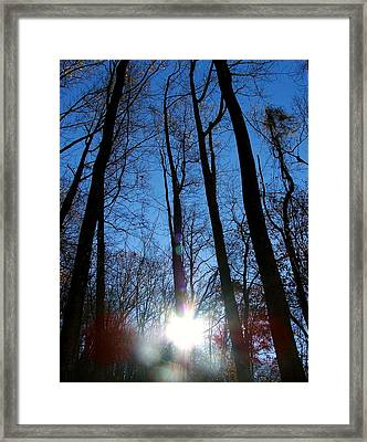 Morning In The Mountains Framed Print by Robert Meanor
