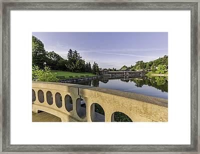 Morning In The Park Framed Print