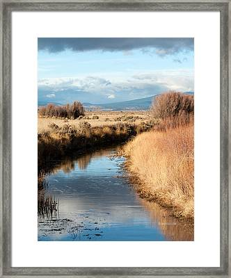 Morning In The Valley Framed Print by The Couso Collection