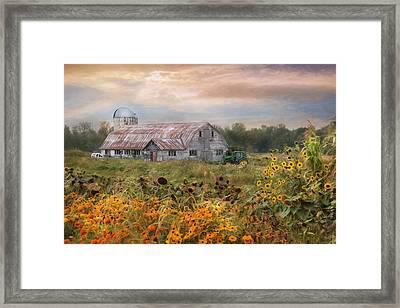 Morning In Vermont Framed Print by Lori Deiter