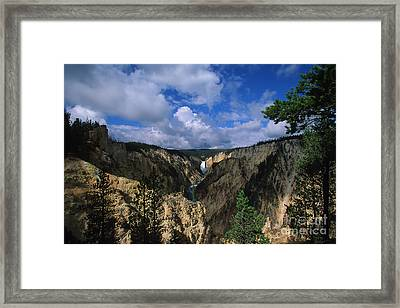 Morning In Yellowstone Framed Print by Stan and Anne Foster