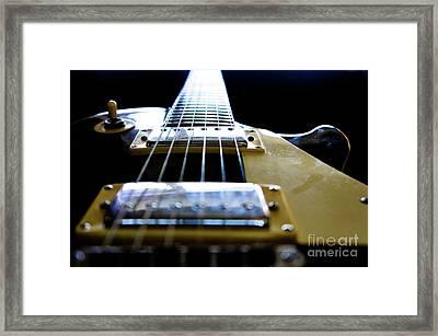 Morning Jam Framed Print by Luke Aldington