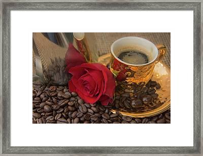 Morning Java Framed Print by Pamela Williams