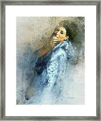 Morning Kiss-8 Framed Print