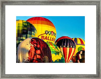 Morning Lift Off Framed Print by Tammy Espino