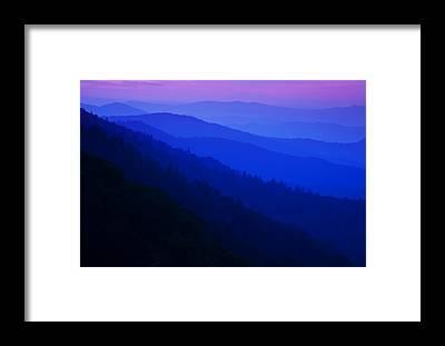 Smoky Mountains Framed Prints