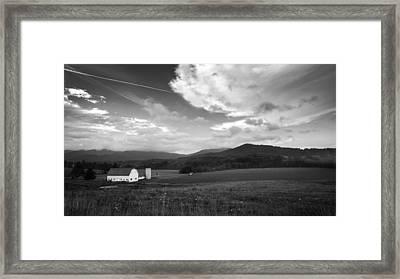 Morning Light Bw Framed Print