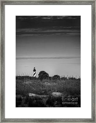 Morning Light-bw Framed Print