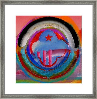 Framed Print featuring the painting Morning Light by Charles Stuart