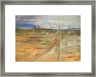Morning Light Framed Print by Edward Wolverton