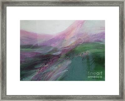 Morning Light Framed Print by Eva Macie