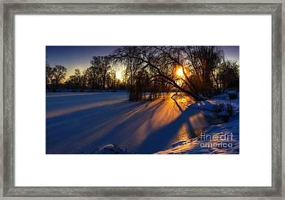 Framed Print featuring the photograph Morning Light by Franziskus Pfleghart