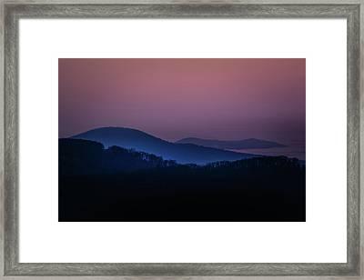 Morning Light In Shenandoah  Framed Print