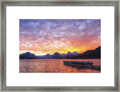 Morning Light Iv Framed Print