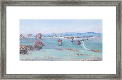 Morning Light Landscape Framed Print by Jan Matson