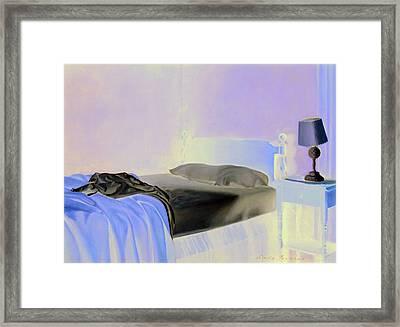 Morning Light Framed Print by Linda Tenukas