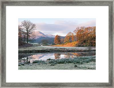 Morning Light Over The Brathay Framed Print by Tony Higginson