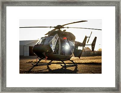 Framed Print featuring the photograph Morning Light by Paul Job