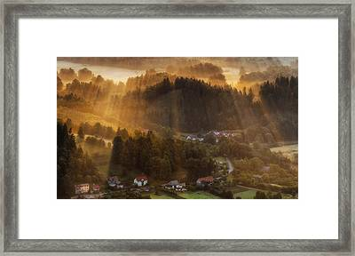 Morning Light Framed Print by Piotr Krol (bax)