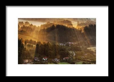Beam Framed Prints