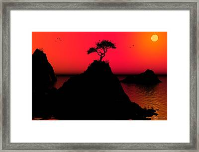 Morning Light Framed Print by Robert Orinski