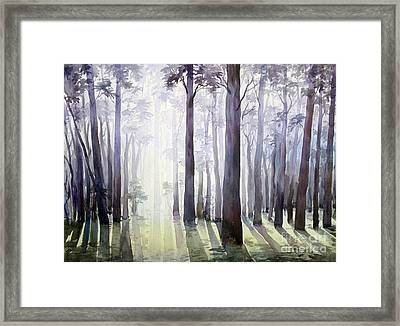 Morning Light Framed Print by Samiran Sarkar