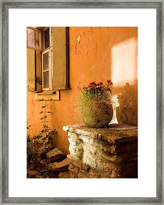 Morning Light Tuscany Framed Print