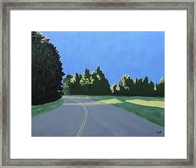 Morning Light Uma Framed Print by Laurie Breton