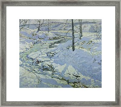 Morning Light Framed Print by Walter Elmer Schofield
