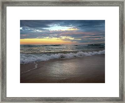 Morning Lineup Framed Print