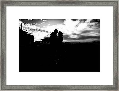 Morning Love Framed Print by Uros Zunic