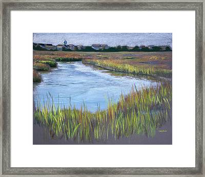 Morning Marsh Framed Print