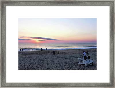 Morning Meditation Framed Print by Kim Bemis
