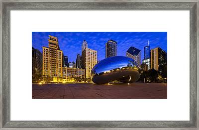 Morning Metropolis Framed Print by Mike Lang