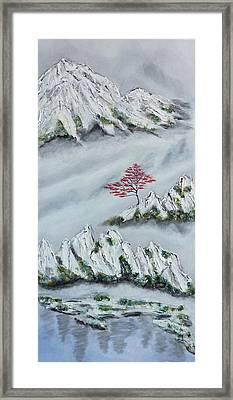 Morning Mist 3 Framed Print