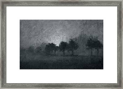 Morning Mist 3 Framed Print