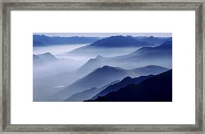 Morning Mist Framed Print by Chad Dutson