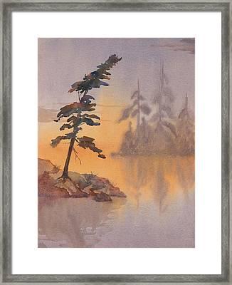 Morning Mist Framed Print by Debbie Homewood