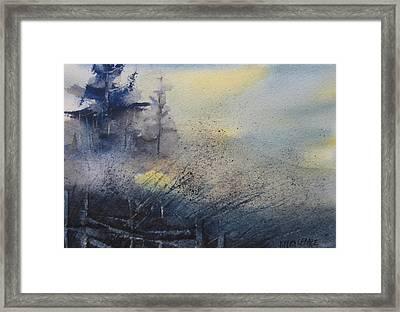 Morning Mist Framed Print by Debra LePage