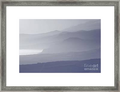 Morning Mist Framed Print by Gaspar Avila