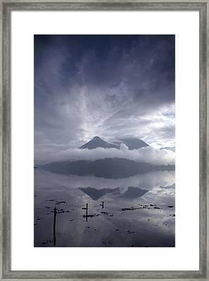 Morning Mist Glencoe Framed Print