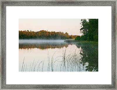 Morning Mist Over Mink River Estuary Framed Print by Panoramic Images