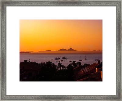 Framed Print featuring the photograph Morning Mist by Scott Carruthers