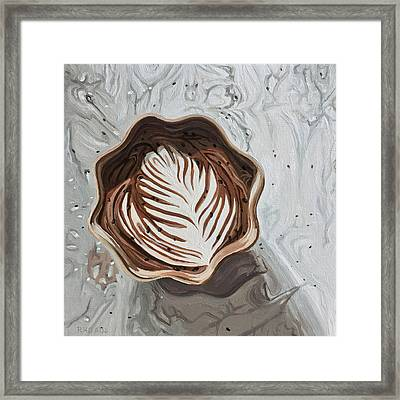 Morning Mocha Framed Print
