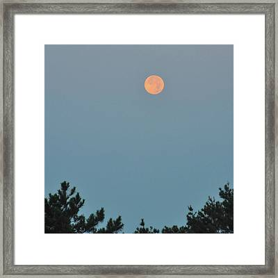 Morning Moon Framed Print by JAMART Photography